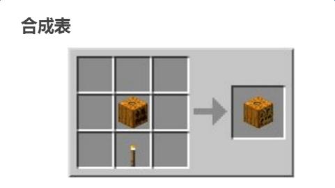 我的世界南瓜灯怎么做 我的世界南瓜灯合成方法一览图片