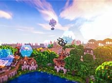 我的世界格林婪都风景欣赏 我的世界玩家原创