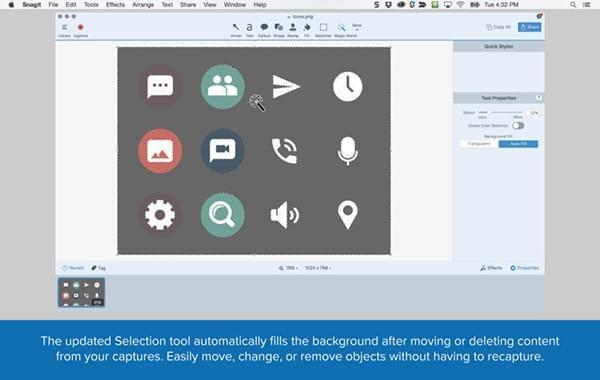 mac截屏软件|Snagit for mac下载 V2018.1.2