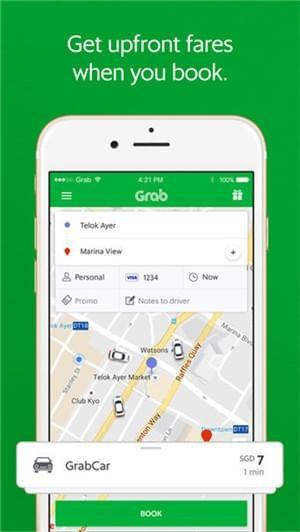grabcar app