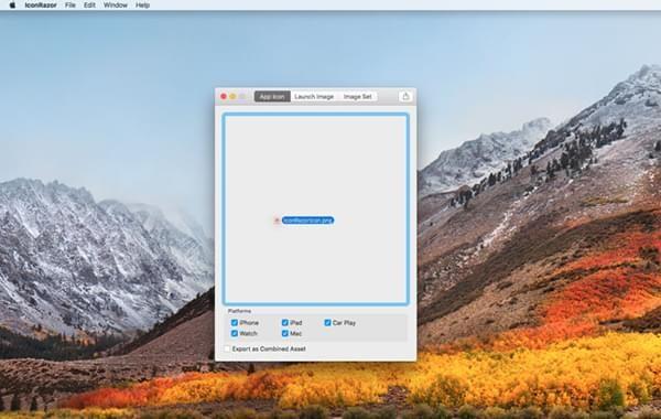 IconRazor Mac版