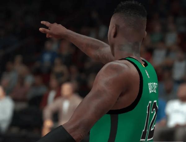 NBA2K18特里罗齐尔纹身补丁MOD