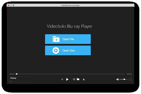VideoSolo Blu-ray Player Mac版