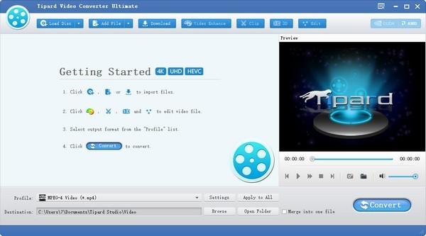 Tipard Video Converter(多功能视频转换器)