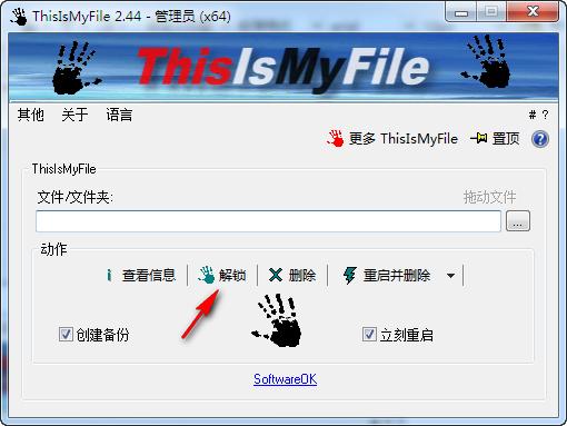 文件解锁工具(ThisIsMyFile)