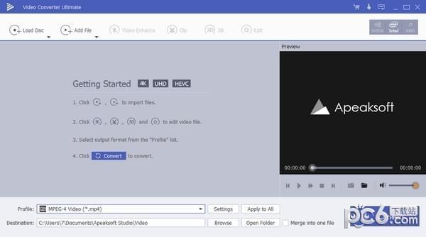 Apeaksoft Video Converter(视频转换助手)