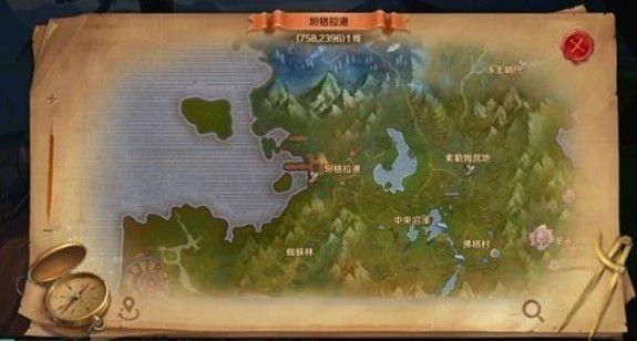 万王之王迷雾沼泽风景图片