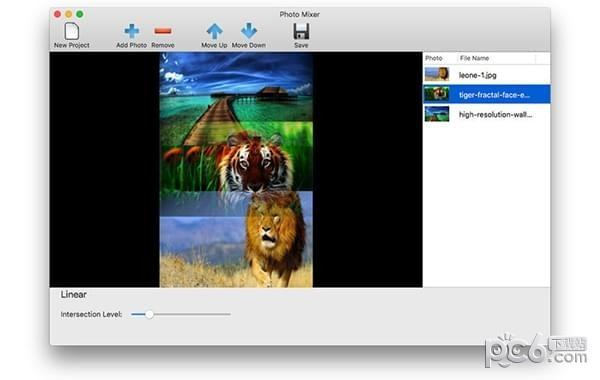 Photo Mixer for Mac