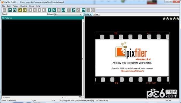 PixFiler(照片管理软件)