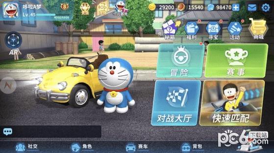 哆啦A梦飞车游戏下载