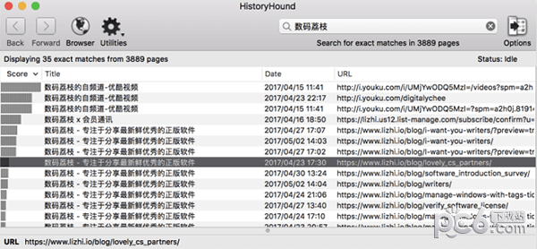 HistoryHound for Mac