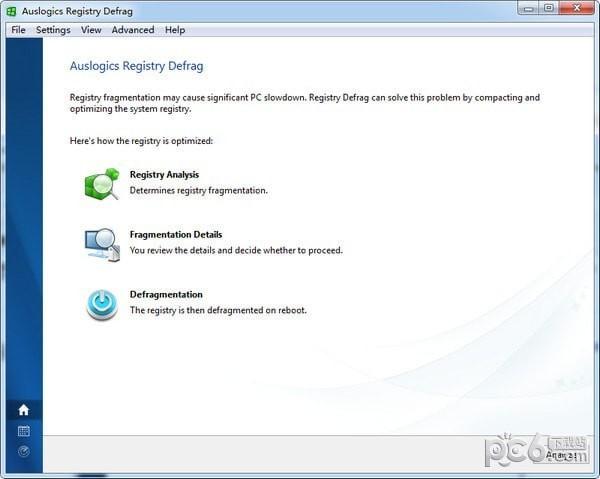 注册表碎片整理工具(Auslogics Registry Defrag)