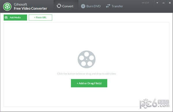 免费视频转换器(Gihosoft Free Video Converter)