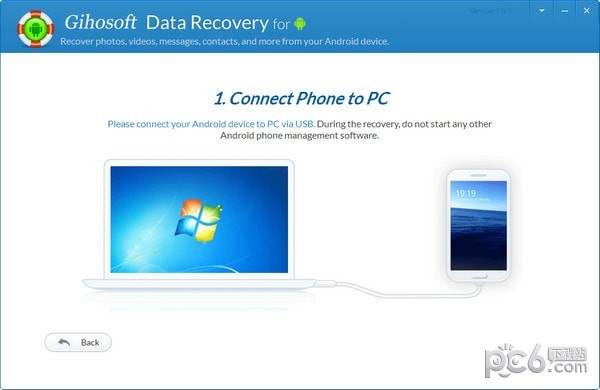 Gihosoft Free Android Data Recovery(安卓数据恢复软件)
