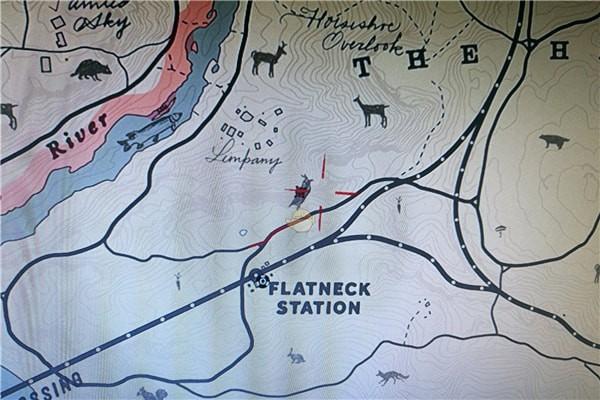 荒野大镖客2北美红雀位置图片