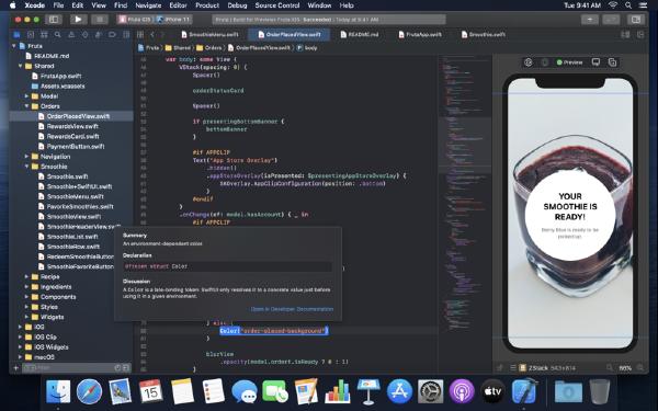 Xcode 7截图