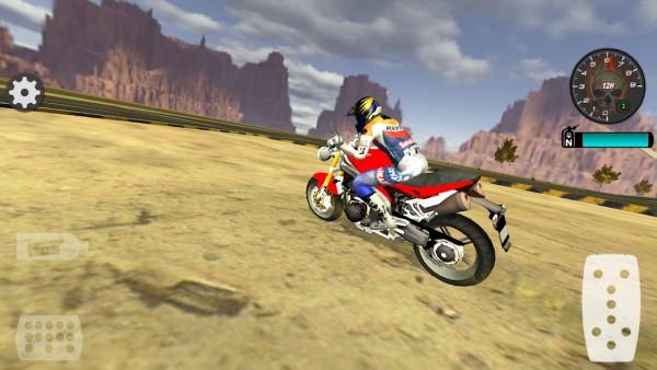 快速摩托车司机(图2)