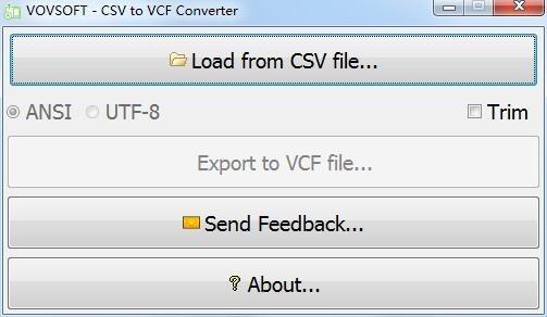 CSV to VCF Converter(CSV转VCF工具)