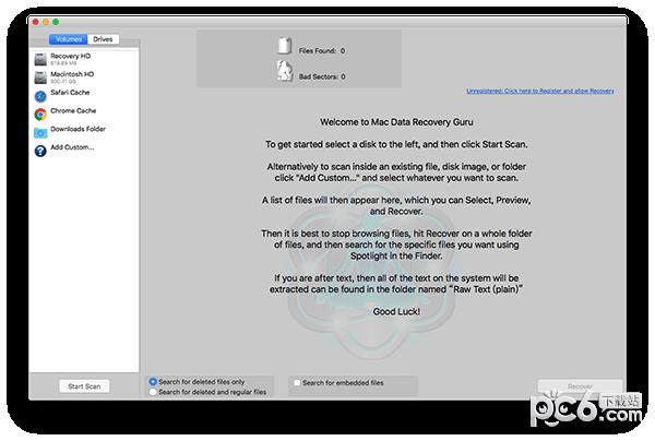 Data Recovery Guru Mac版