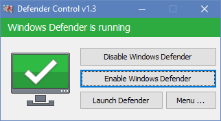 Windows defender关闭工具