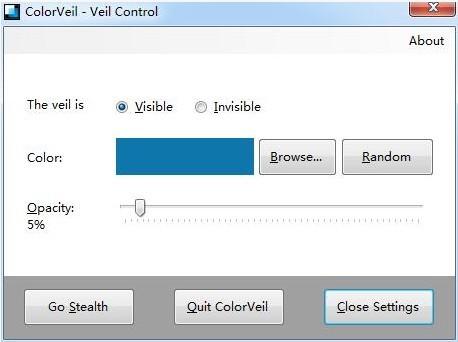 ColorVeil屏幕色彩调整软件 免费系统优化软件