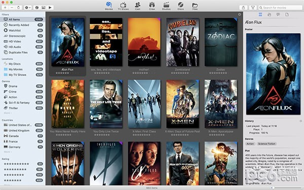 Movie Explorer Mac版