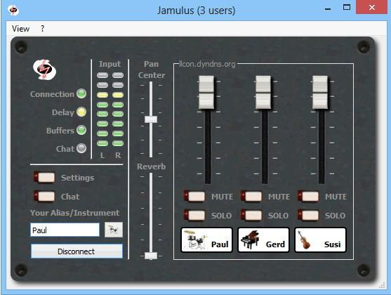 Jamulus(混音制作�件)