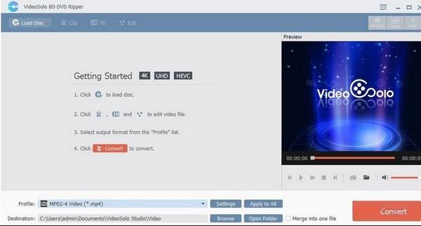 VideoSolo BD-DVD Ripper(DVD��l�D�Q器)