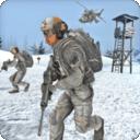 狙擊手冬天吃雞槍戰