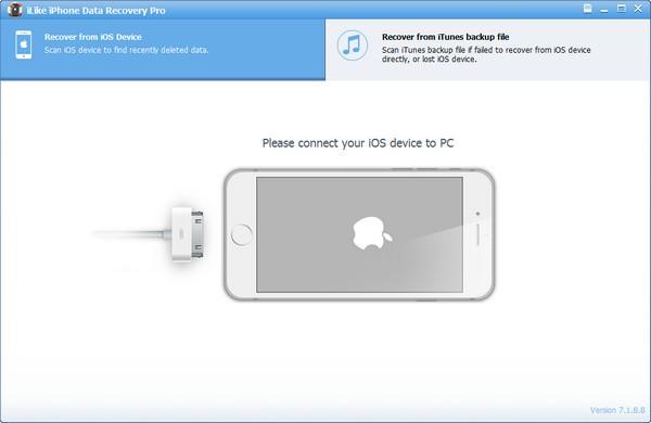 iLike iPhone Data Recovery Pro(iPhone数据恢复工具)