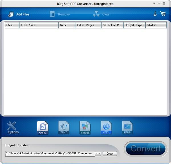 iOrgSoft PDF to Word Converter(PDF转Word软件)