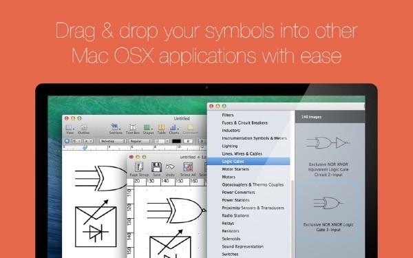 Electronic Symbol Libraries 2 Mac版