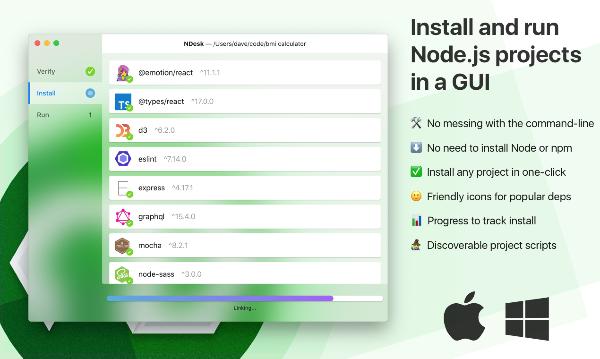 NDesk Mac版
