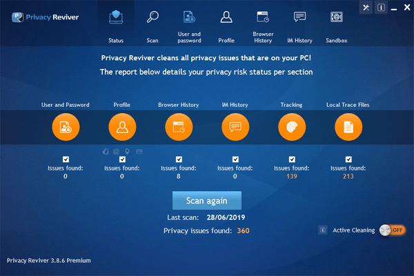 Privacy Reviver Premium(电脑隐私保护软件)