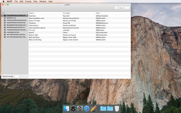 iXLIFF Mac版