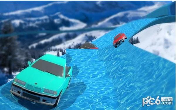 水滑梯赛车手游下载