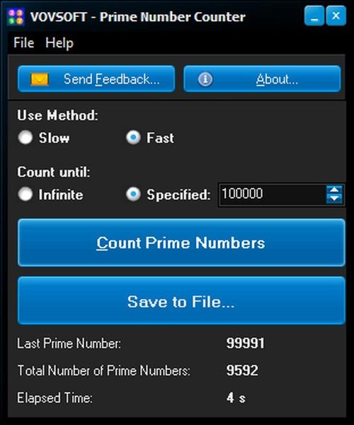 Prime Number Counter(素数计数器)