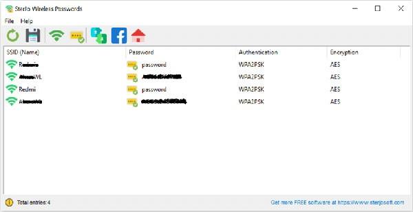 SterJo Wireless Passwords(wifi密�a查找工具)