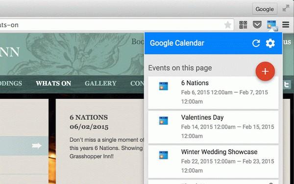 谷歌日历插件 v2.1官方免费版