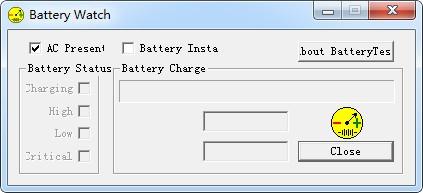 BatteryTest(电量显示工具)