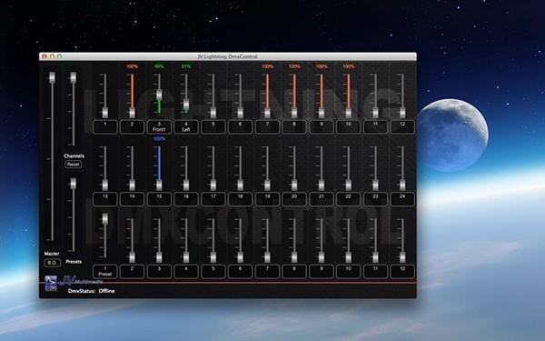 JV Lightning DmxControl Mac版