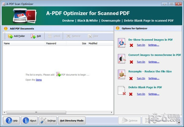 A-PDF Scan Optimizer(PDF扫描优化工具)