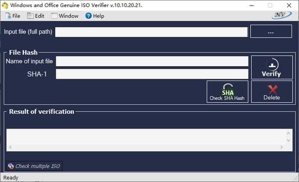 Windows and Office Genuine ISO Verifier(映像文件验证工具)